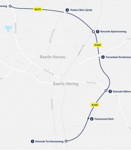 Laatste deel randweg Baarle-Nassau al open voor verkeer, drumspektakel bij officiële ingebruikneming