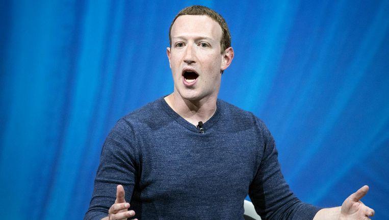 Mark Zuckerberg Beeld anp