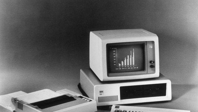IBM-computer uit 1981 Beeld ANP