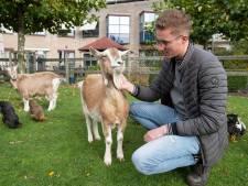 Nieuwe baas voor de kippen en geiten van Sytse Bouma uit Goor