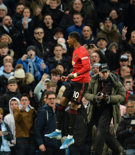 United verrassend te sterk voor City in Manchester-derby
