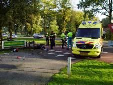 Scooter in stukken bij aanrijding in Vorden, bestuurder gewond