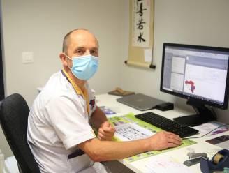 """Hoofdverpleegkundige intensieve zorgen Geert Borgers (56): """"Sommige covid-patiënten zetten even hun zuurstofmasker af, maar gaan dan meteen in het rood"""""""