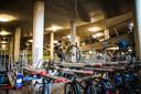 De fietskelder van Arnhem Centraal.