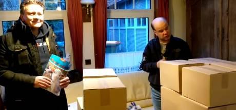 Autistische Allard krijgt 12.000 pennen cadeau om de lockdown door te komen met kleuren