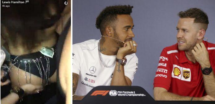 Instagram Lewis Hamilton en Photonews