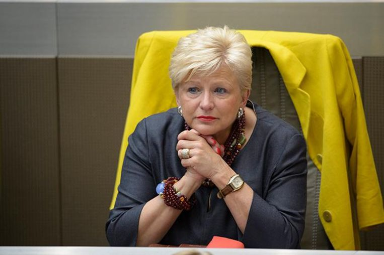 Ann Soete wil niet op een lijst staan met Pol Van Den Driessche. Beeld photo_news