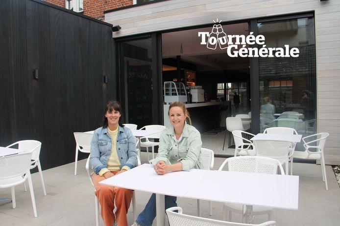Hanne-Lore en Nele starten zaterdag met hun gloednieuwe koffie-en lunchbar Living in Lendelede.