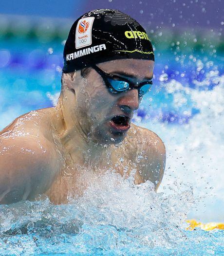 Arno Kamminga stelt zich met toptijd in serie kandidaat voor medaille op schoolslag