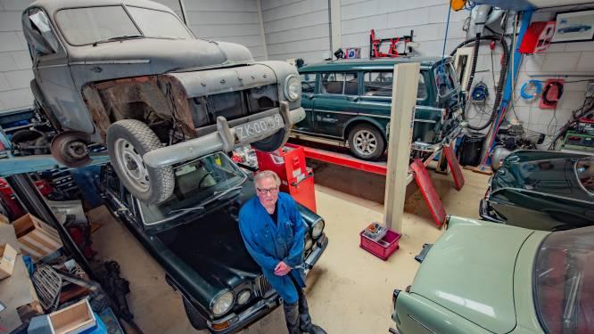 Jan bestaat even lang als zijn liefde voor Volvo en heeft er acht: 'Beige 121 Amazon is voor dagelijks gebruik'