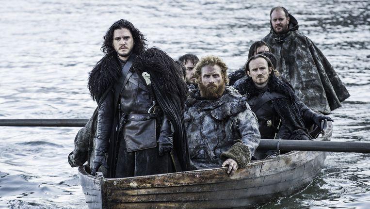 Acteur Kit Harington als Jon Snow in de serie 'Game of Thrones'. Beeld AP