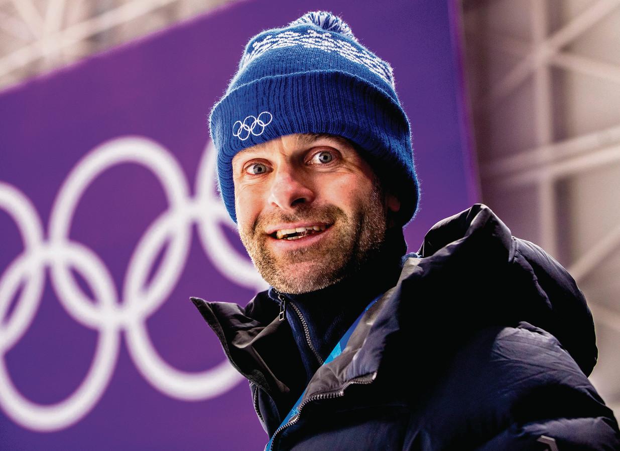Erben Wennemars tijdens de Olympische Winterspelen 2018 in Pyeongchang