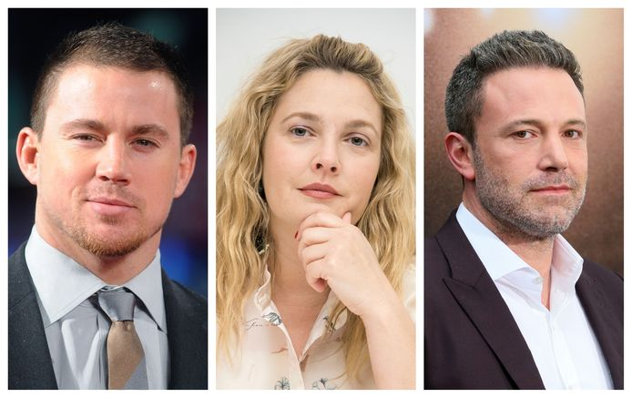 Channing Tatum, Drew Barrymore en Ben Affleck maken gebruik van de datingapp Raya