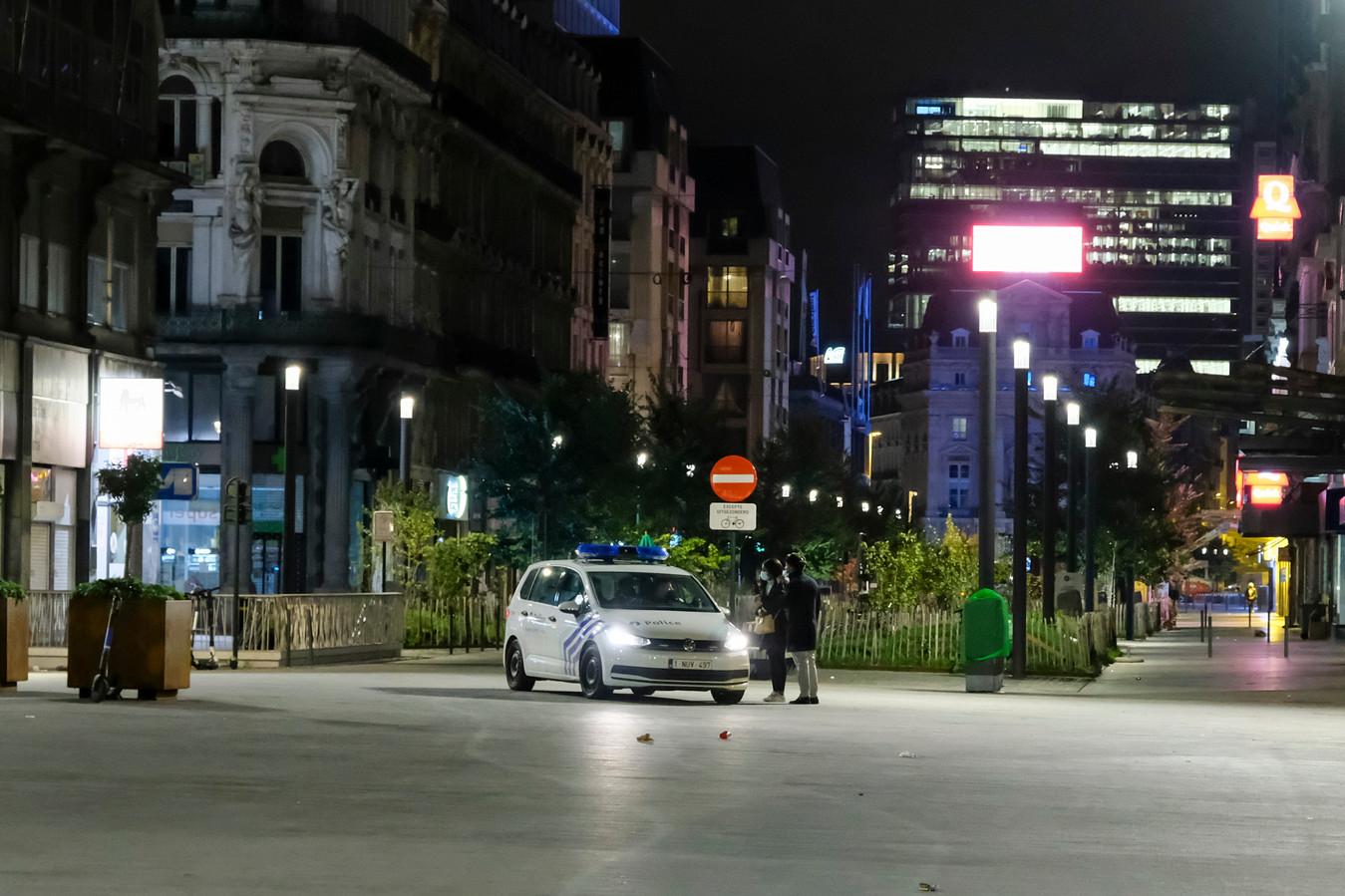 In Brussel geldt de avondklok tussen 22 en 6 uur.