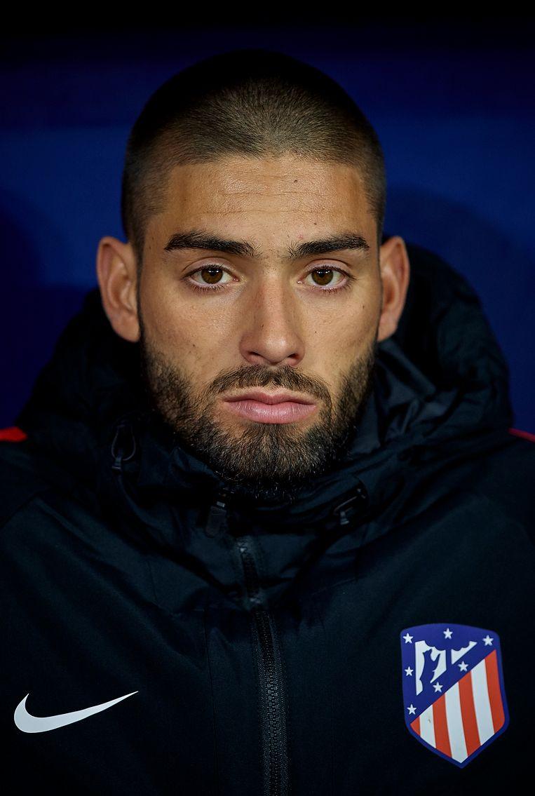 Yannick Carrasco zat vaak op de bank bij Atlético, waar hij drie seizoenen aan het werk was.