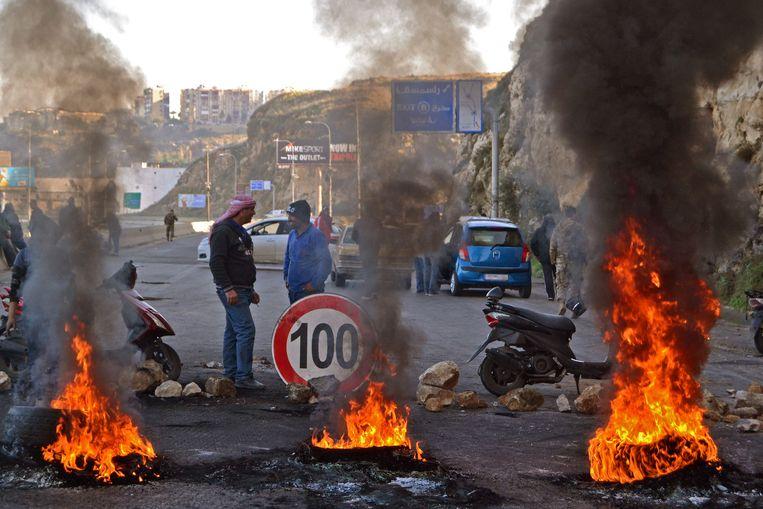 In Libië heerst chaos sinds de val van dictator Muammar Kaddafi in 2011. Beeld AFP