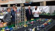 Prins Laurent bezoekt LEGO expositie