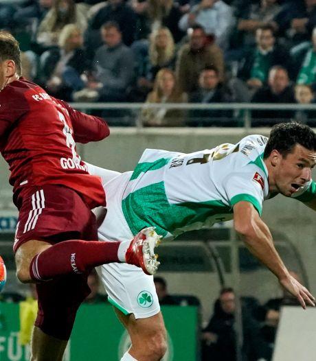 Viergever en Willems kunnen ook tegen tien man van Bayern geen vuist maken