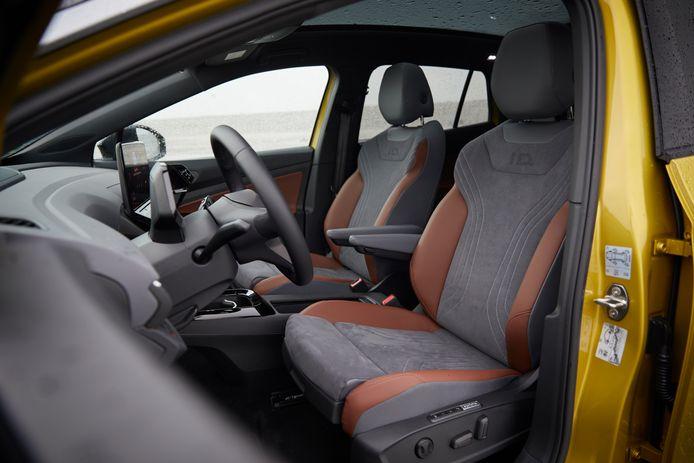 Voorin, achterin en in de bagageruimte: de Volkswagen ID.4 biedt bovengemiddeld veel ruimte