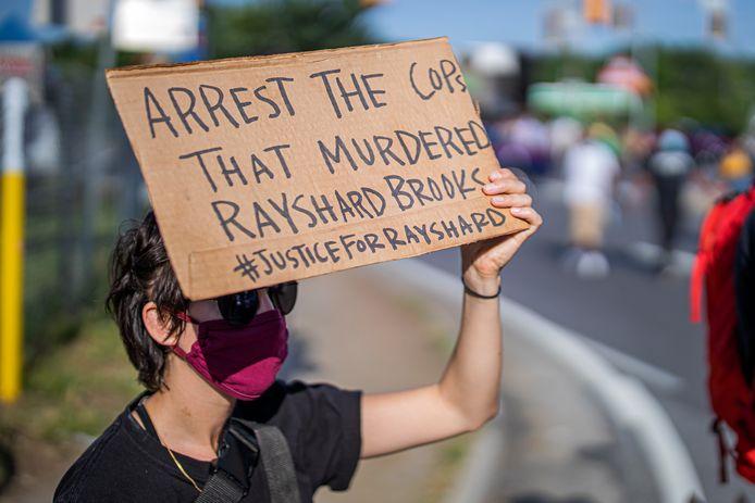 Rayshard Brooks was een van de 1.021 slachtoffers die vorig jaar door een politiekogel stierf.