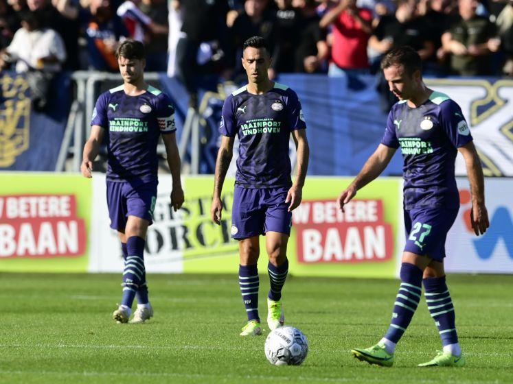 PSV kan geen wedstrijd meer 'killen' en loopt achter de feiten aan