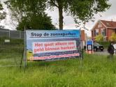 Verzet tegen zonneparken Zwolle blijft: 'Het gaat alleen om geld binnen harken!'