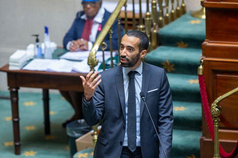Staatssecretaris Sammy Mahdi. Beeld BELGA