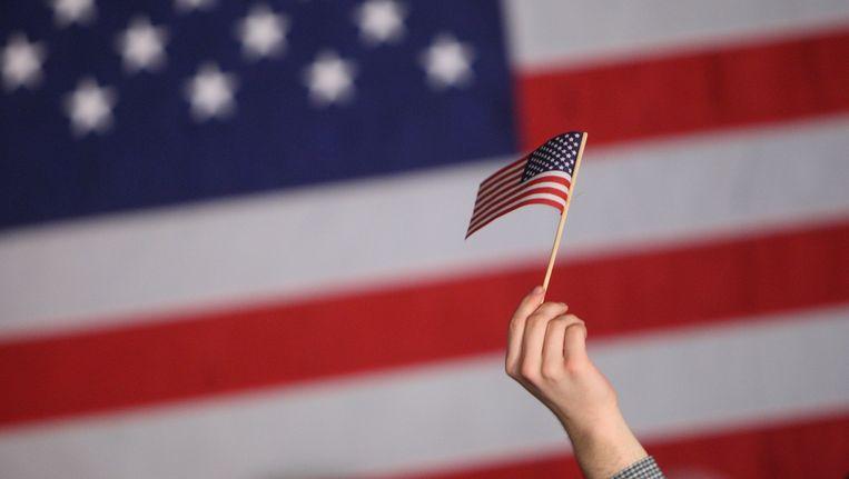 Amerika is een tweestromenland, maar zijn beide stromen even sterk? Beeld afp