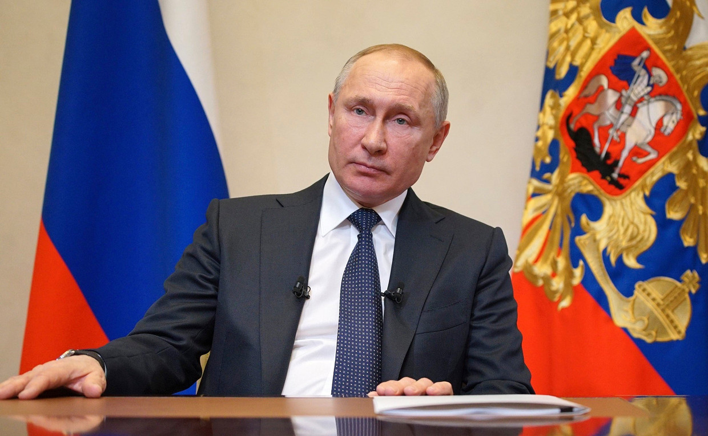 President Vladimir Poetin. Beeld Photo News
