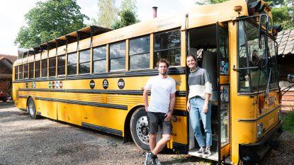Op roadtrip in oude Amerikaanse schoolbus en iedereen kan mee