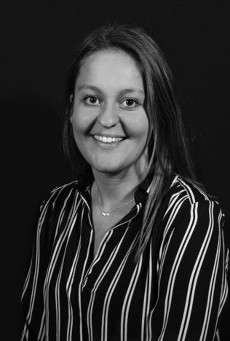 Maud Nijhuis, consultant bij KPMG en medeoprichter YoungConnectors. Beeld