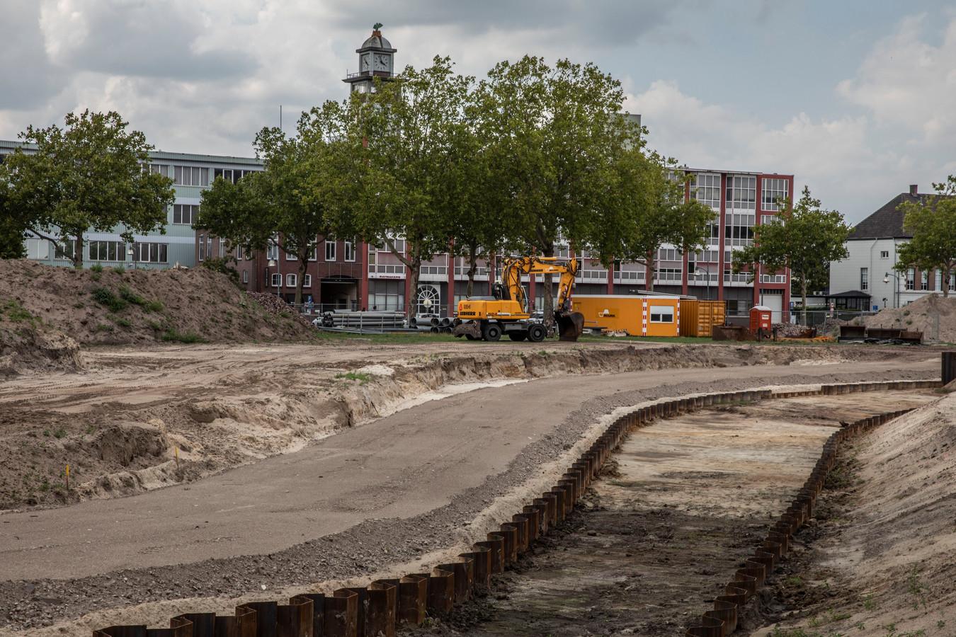 Het Burgemeester Geukerspark, een prestigieus groen project midden in de stad.