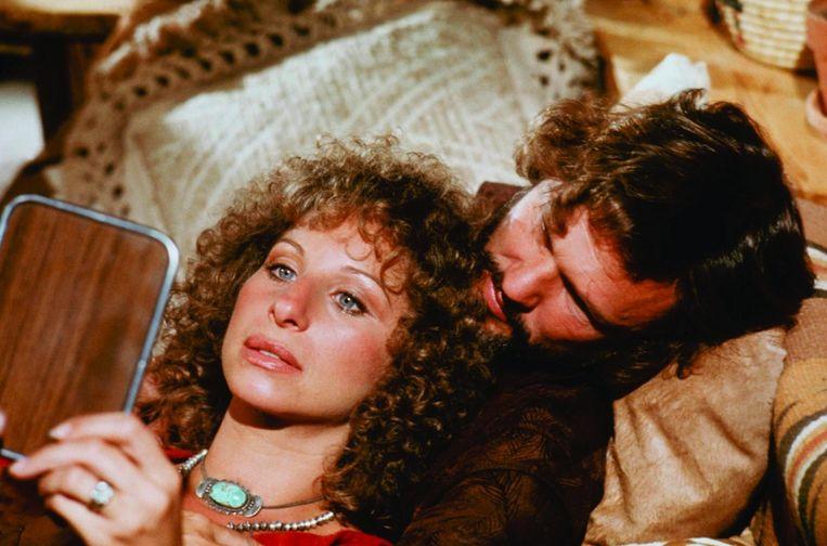 Barbra Streisand & Kris Kristofferson Beeld rv
