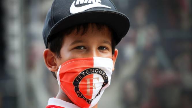 Mondkapje niet meer verplicht bij Feyenoord, Sparta en Excelsior