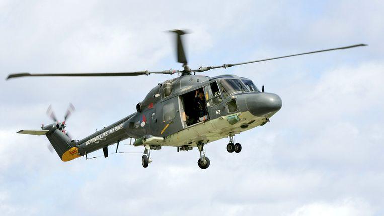 Een Lynx-helikopter van de Koninklijke Marine. © ANP Beeld