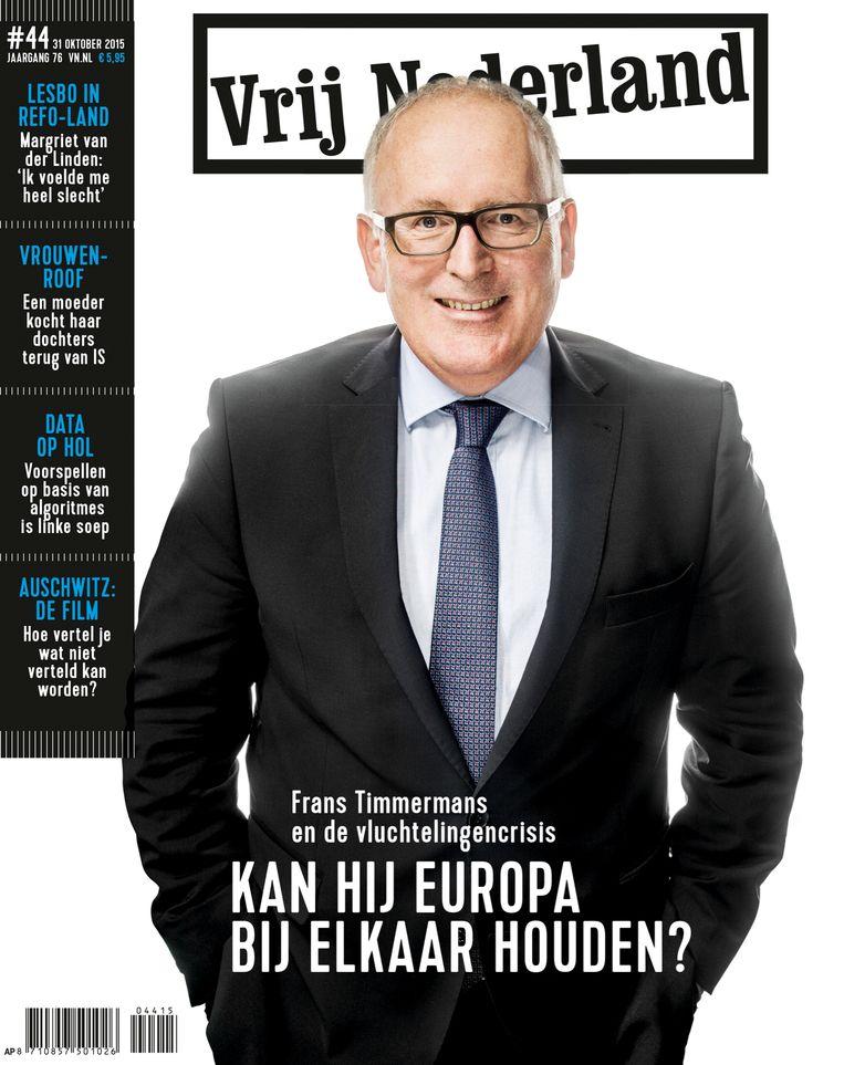 Vrij Nederland in 2015 Beeld Archief