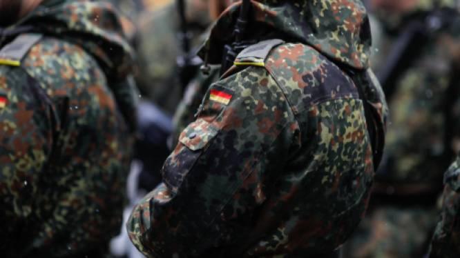 Duitse ex-militairen verdacht van oprichten paramilitaire groep