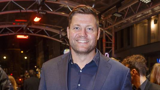 Presentator Dennis van der Geest