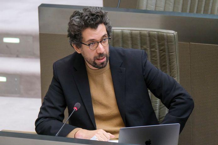 Imade Annouri, Vlaams parlementslid en Antwerps fractieleider voor Groen.