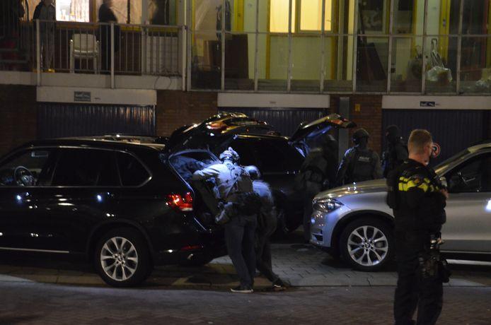 Een speciaal arrestatieteam is ingezet voor een aanhouding in Gouda