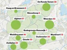 Aantal opgenomen coronapatiënten in Groene Hart toegenomen met vier