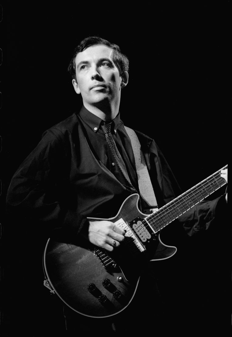 Pete Shelley in Londen, 1979. Beeld Getty Images
