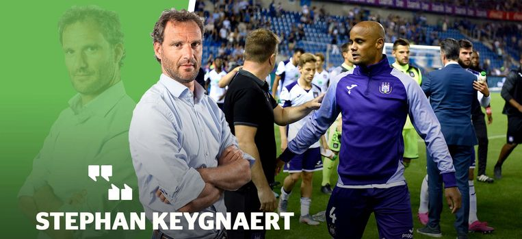 Onze chef voetbal Stephan Keygnaert.