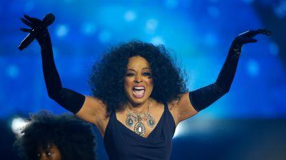 Diana Ross krijgt felicitaties van de Obama's