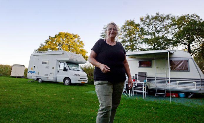 Agnes Leeftink is eigenaresse van Woha-li minicamping Twekkelo