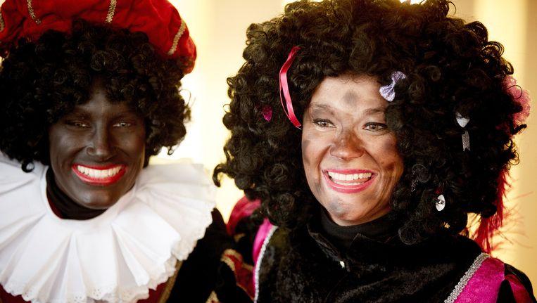 In sommige gemeenten is de Zwarte Piet inmiddels vervangen voor de Roetpiet. Beeld anp