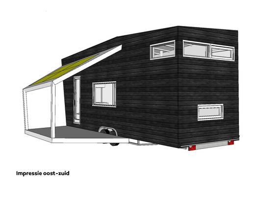 Illustraties uit: Bouw je eigen Tiny House