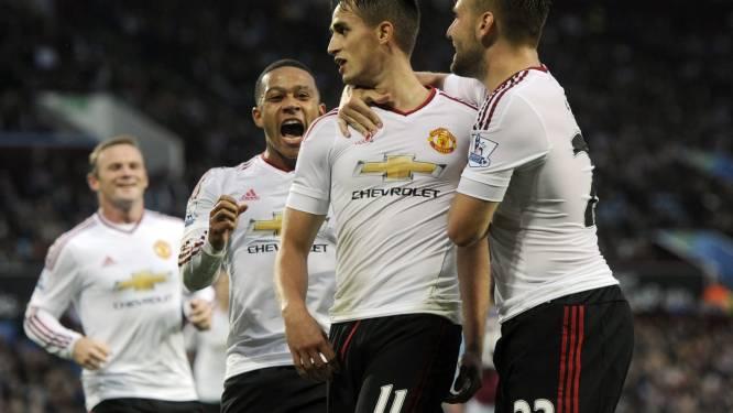 Januzaj schenkt flauw United volle buit bij Aston Villa