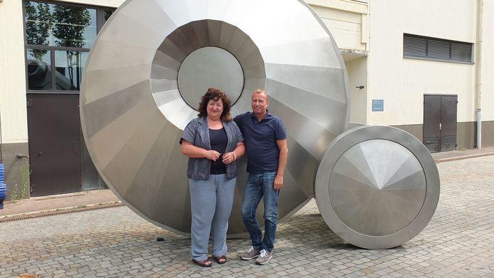 Jeanne van Beers en Peter Fluiter van Pandor.