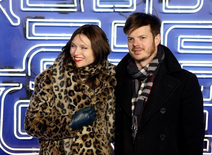 Sophie Ellis-Bextor met haar man Richard Jones.